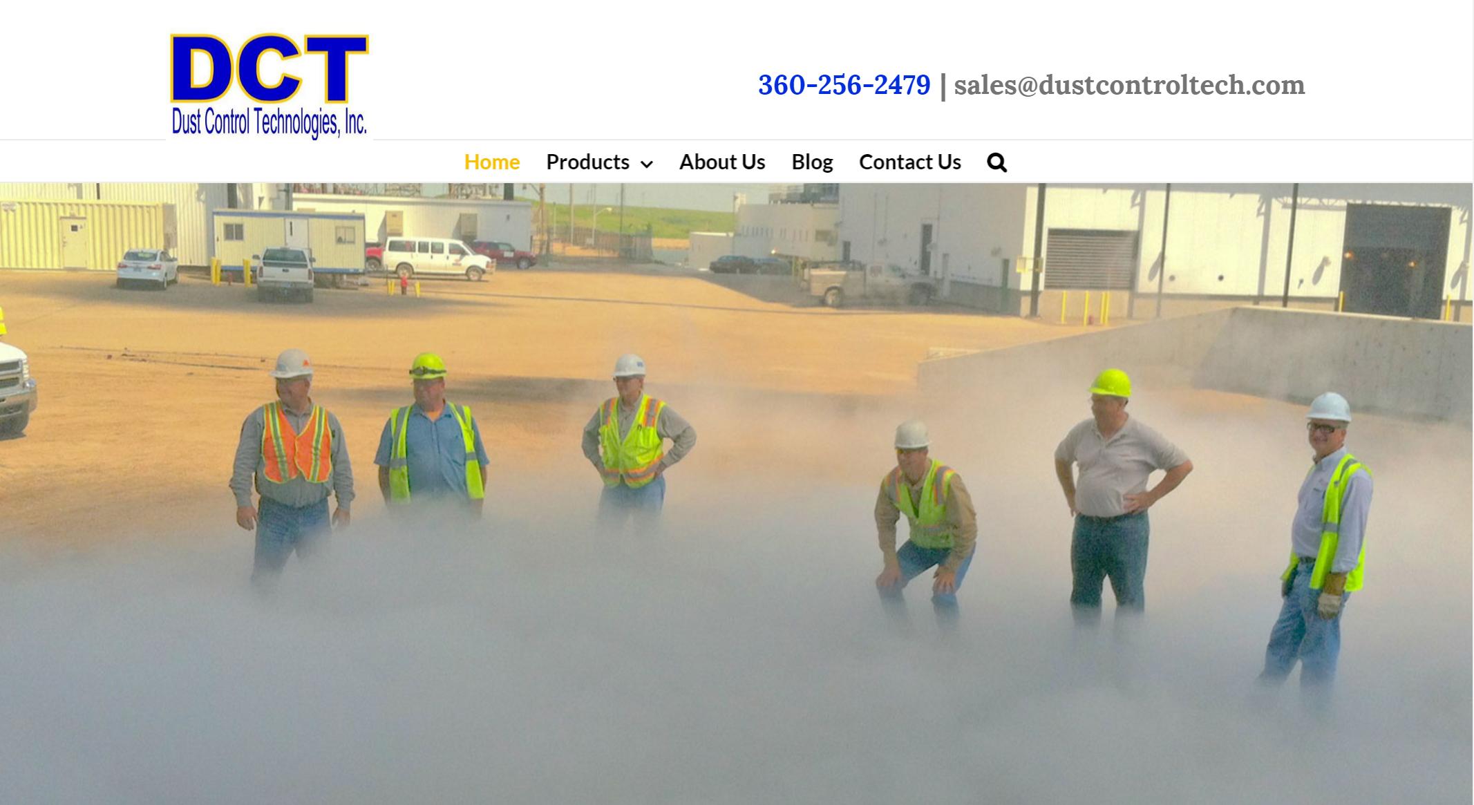 Dust Control Technologies Website